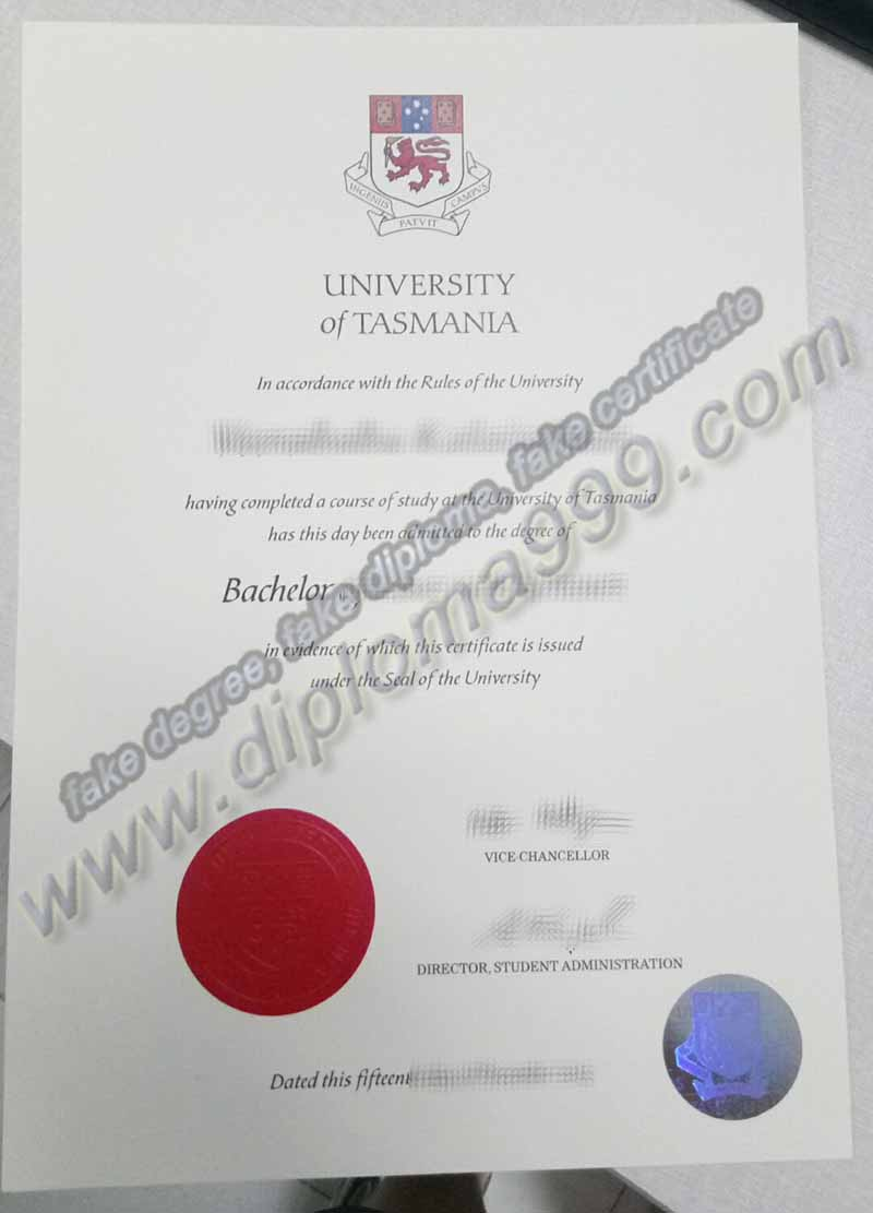 Where to Buy Fake University of Tasmania Diploma, UTAS Degree