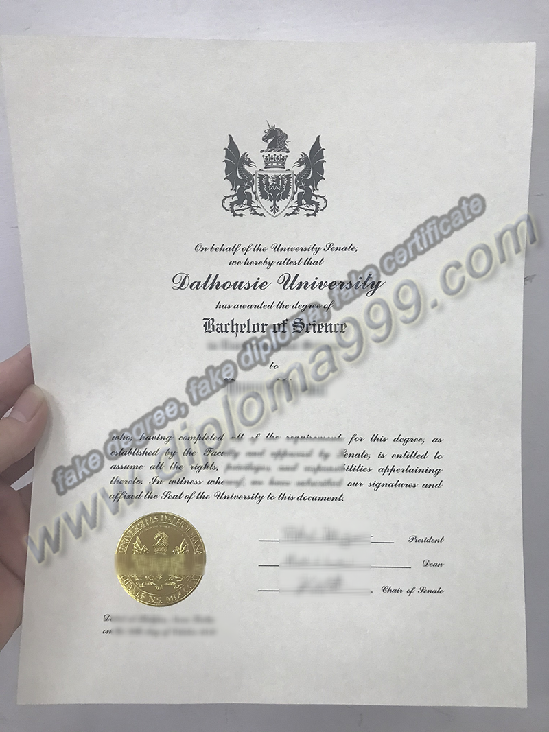How Much For Fake Dalhousie University Diploma Certificate