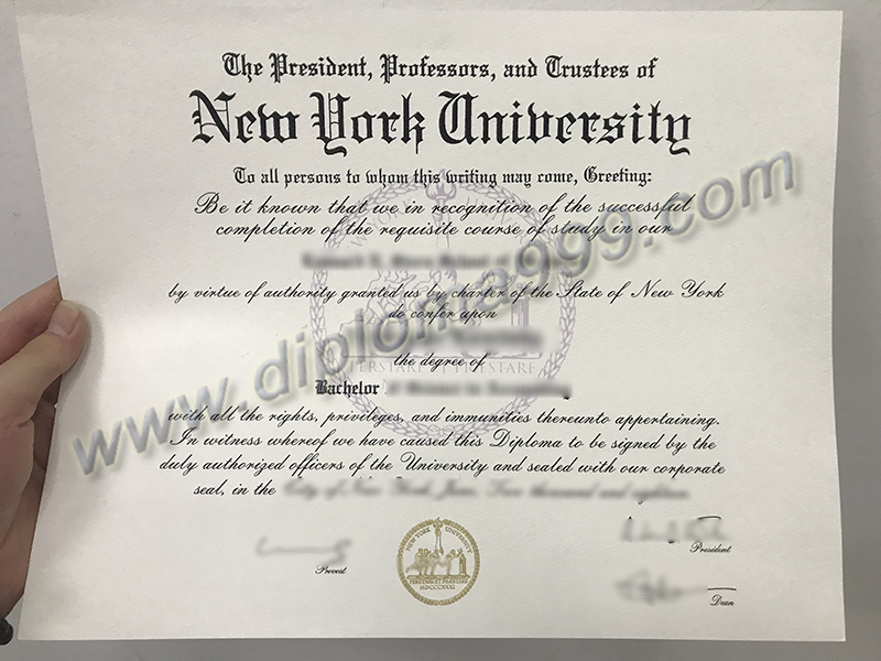 The 2 Best Things About New York University (NYU) Fake Diploma Certificate