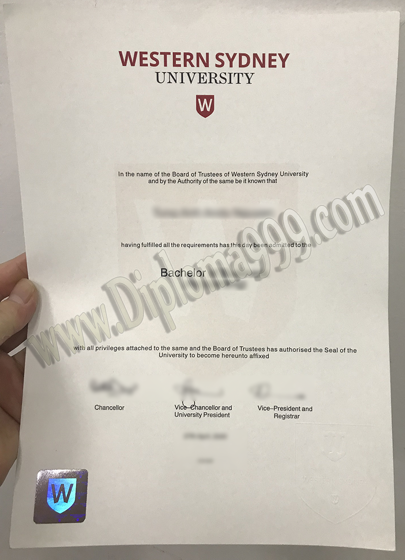 Order Fake Western Sydney University (WSU) Diploma, Buy Fake Australia degree