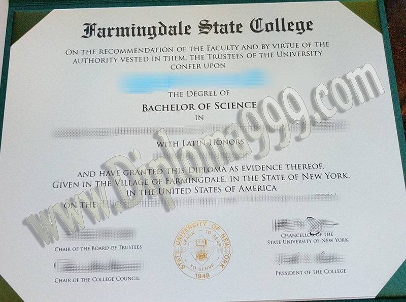 Where to Order Fake Farmingdale State College Diploma