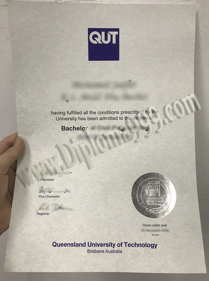 Where to Buy Fake QUT Degree Certificate