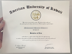 How to Buy Fake American University of Kuwait (AUK) Diploma