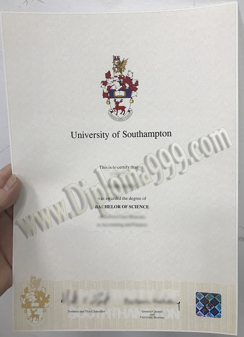How To Start A Business With Only University of Southampton Fake Certificate