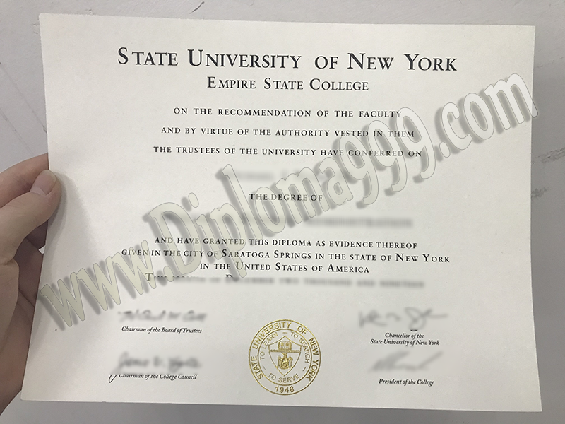 How To Make Your SUNY Empire State College Fake Diploma Look Amazing In 6 Days