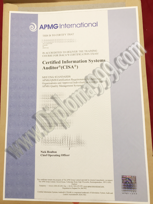 How to Make Fake APMG International Certificate