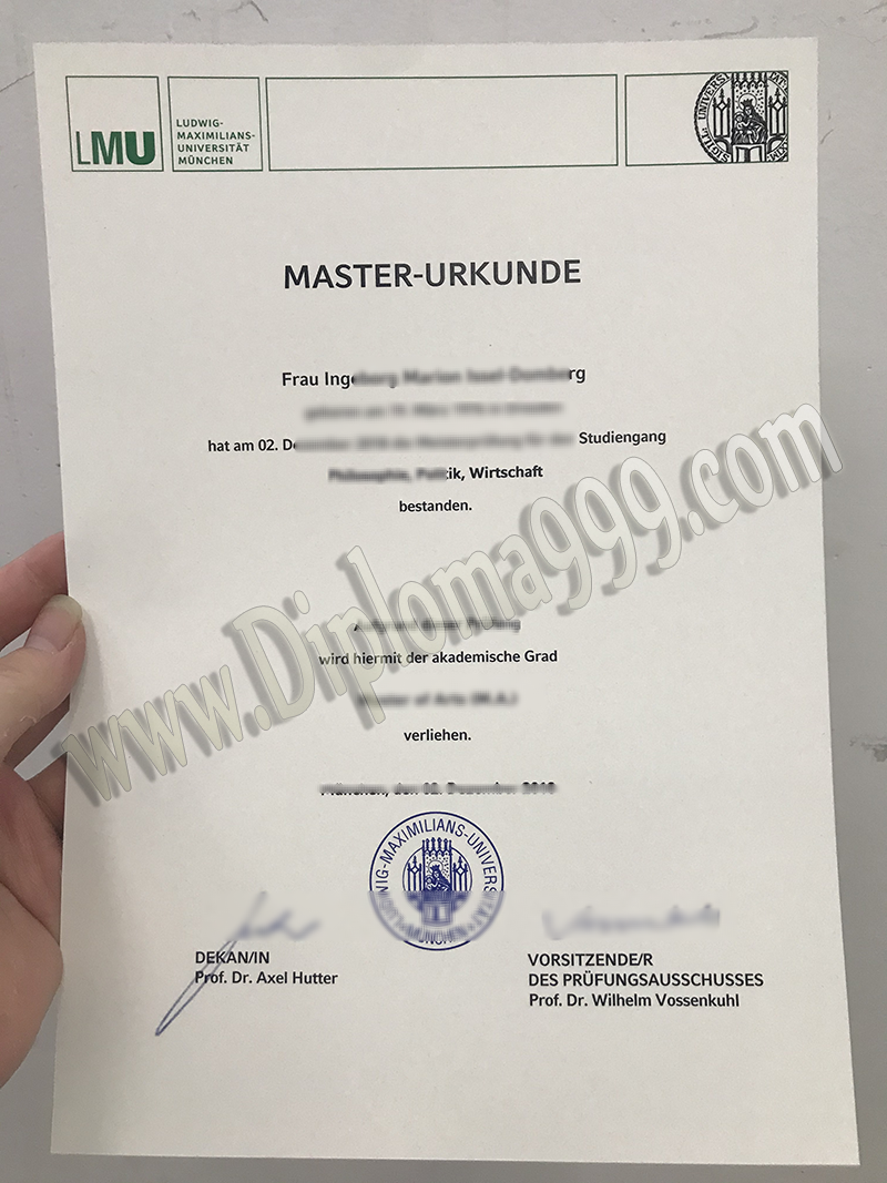 How to Apply For LMU Munich Fake Degree Certificate