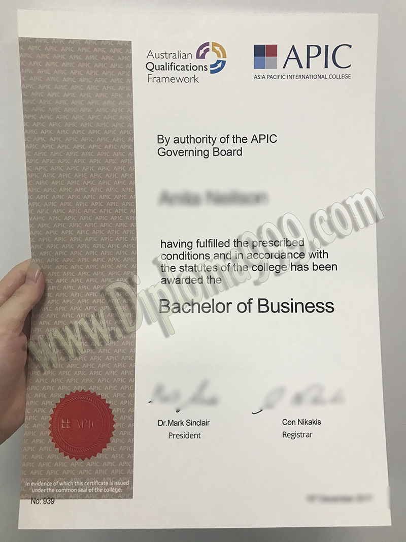 How to Get a Fake (Asia Pacific International College) APIC Degree