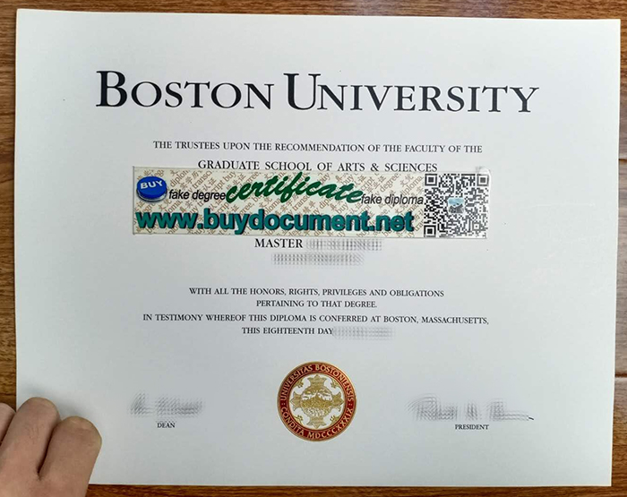 How Much For A Fake Boston University Diploma?