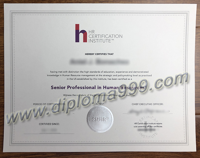 How To Get SPHR Certificate As Soon As Possible?