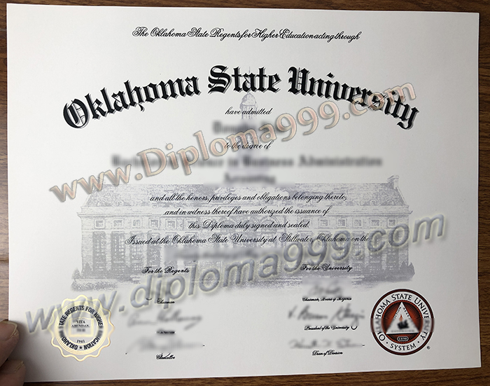 How Much Is A Fake Oklahoma State University Degree?