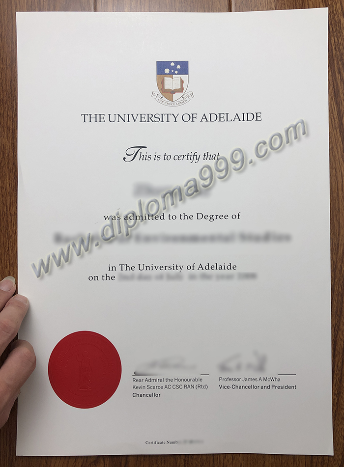 Where Can I Buy A Fake  University of  Adelaide Diploma?