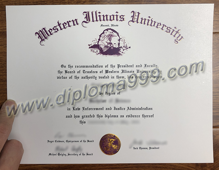 Where Can I Buy A fake Diploma From Western Illinois University?
