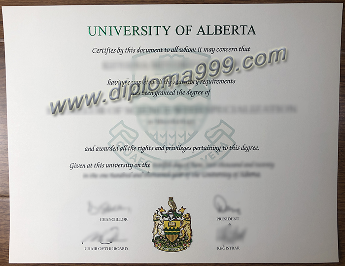 Where can I buy a fake degree from the University of Alberta? UAlberta Degree.