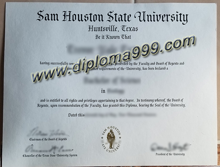 How To Get A Degree Certificate From Sam Houston State University?