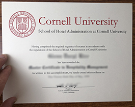 Where Can I Purchase A Degree Certificate From School of Hotel Administration at  Cornell University?