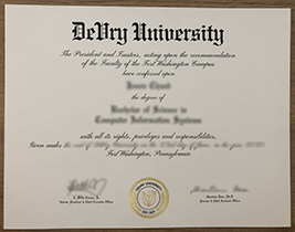 I Need To Buy A Fake Diploma From DeVry University.