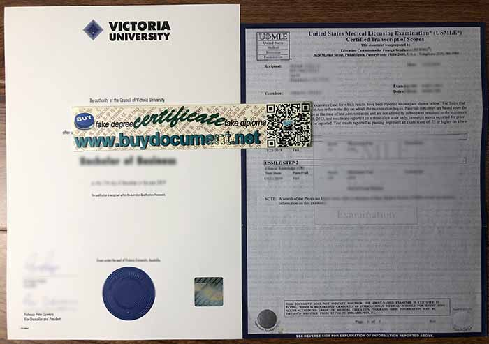 How To Order A Fake Degree From Victoria University? VU Diploma.