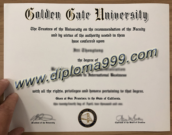 How To Get A Golden Gate University Diploma? GGU Degree.