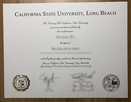 Where Can I Buy A California State University, Long Beach(CSULB) Fake Degree?