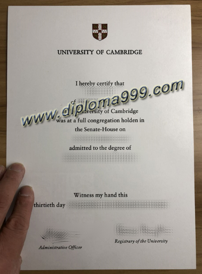 Where Can I Buy A Fake Degree From The University of Cambridge?