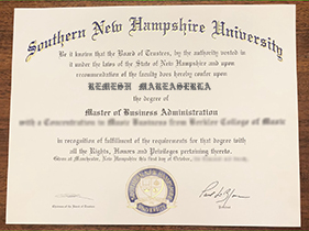 Where Can I Buy A Fake Diploma From The Southern New Hampshire University(SNHU)?