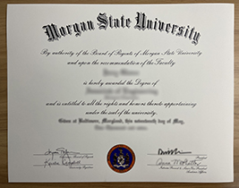 Where Can I Buy A Fake Diploma From Morgan State University?  MSU Diploma.