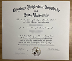 Where Can I Buy The Fake Virginia Tech diploma certificate? VT Degree.