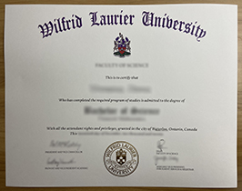How Much Does It Cost To Forge A Degree Certificate from Wilfrid Laurier University? WLU Diploma.