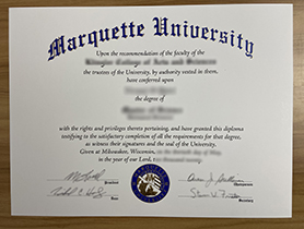 How to Buy a Fake Marquette University Diploma Certificate?
