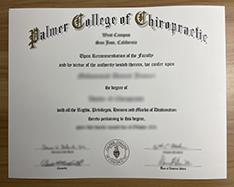 Where Can I Buy A Fake Degree From The Palmer College of Chiropractic?