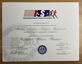 What Courses do I need to pass to Obtain the International Sports Sciences Association( ISSA) Certificate?