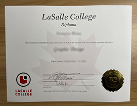 Purchase Fake LaSalle College Diploma. Duplicare Certificate.