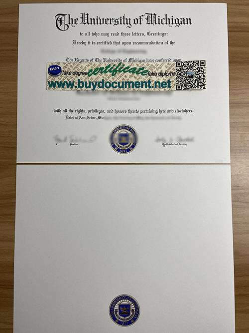 How to Purchase a High-Quality University of Michigan(U of M) diploma(BA degree )?