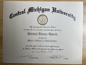 Where Can I Buy A Fake Degree From Central Michigan University? The CMU diploma.