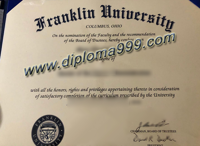 How to Order A Franklin University Diploma Certificate?