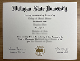 Where Can I Buy A Fake Diploma From Michigan State University? MSU Degree.