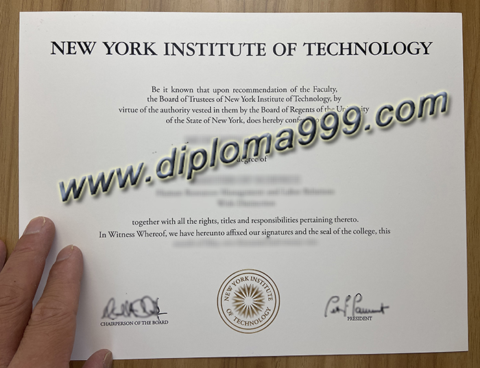 Where Can I Buy The New York Institute of Technology (NYIT) Diploma?