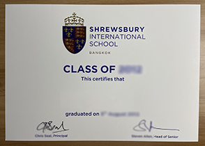 How Much Does It Cost to Buy A Shrewsbury International School Diploma?