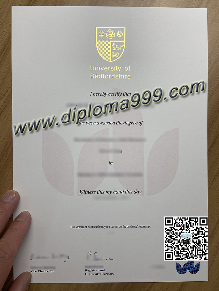 Where Can I Buy A Fake Diploma From The University of Bedfordshire?