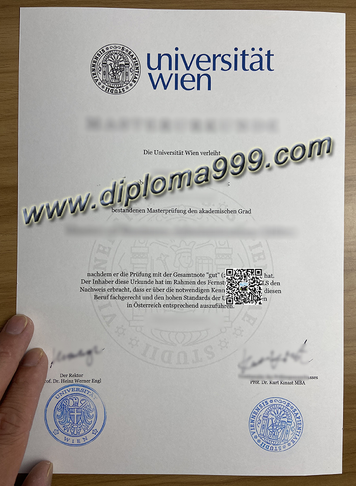 What Is The Process And How Much Does It Cost to Order Universität Wien Diploma? University of Vienna Diploma.