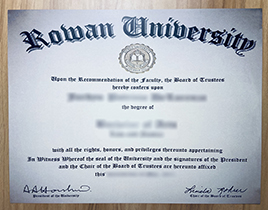 What Is The Process to Follow and What Does It Cost to Buy A Fake Rowan University Diploma?